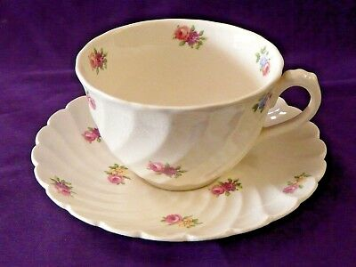 Royal Staffordshire China Devonshire Pattern Cup & Saucer