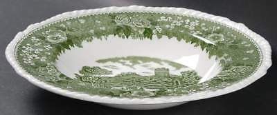 Adams ENGLISH SCENIC GREEN Rimmed Soup Bowl 2134986