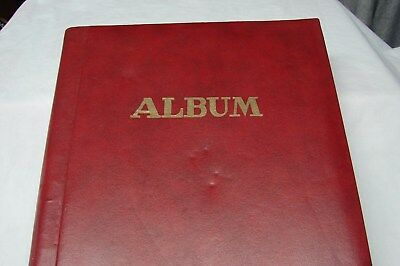 Early 1900S Vintage Antique 45 Views Greetings Stuck In Album