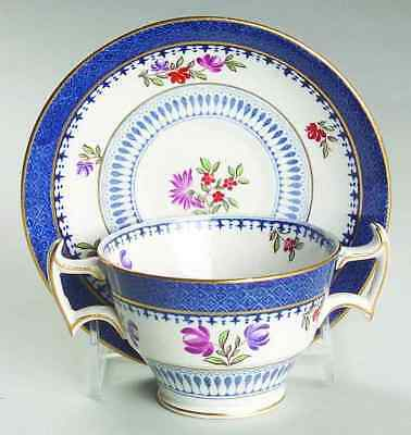 Booths LOWESTOFT BORDER (WITH FLOWERS) Bouillon Cup & Saucer 6799605