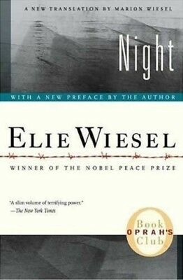 Complete Set Series - Lot of 3 Night Trilogy books by Elie Wiesel Dawn Accident