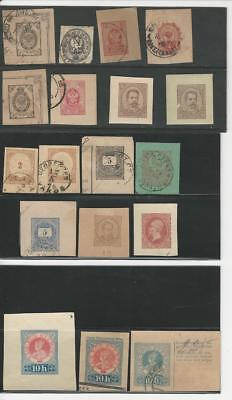 Worldwide Collection of Cut Envelopes, Interesting Old Lot