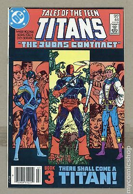 New Teen Titans (Tales of ...) Canadian Price Variant #44 1984 FN- 5.5
