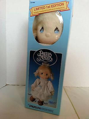 "Precious Moments Susie 18"" Doll Kit #4000 by Paragon Needlecraft / NEW 1985"