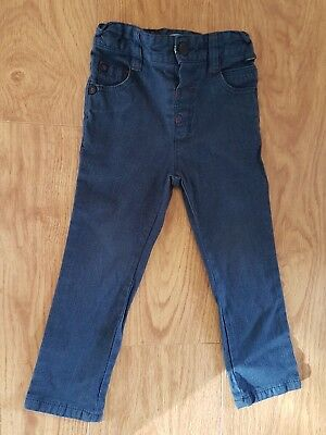 baby boys toddler TED BAKER skinny jeans trousers age 18 24 months