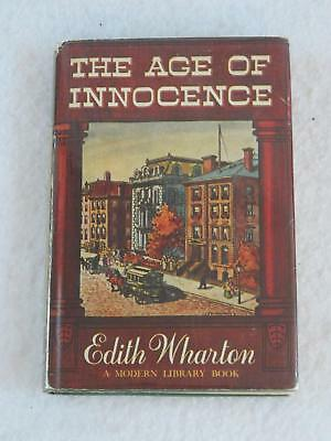 Edith Wharton THE AGE OF INNOCENCE Modern Library c. 1948