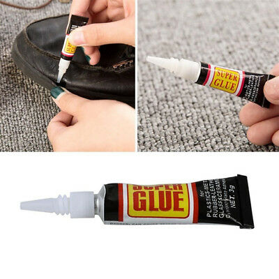 Useful Super Glue Surface Insensitive Extra Strong Adhesive Fast Instant 2PCS