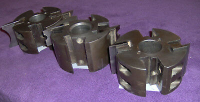 """SHAPER CUTTER HEAD 1-1/4 INCH SPINDLE BORE 4"""" dia..X 2"""" H., DML LINEBERRY A200"""