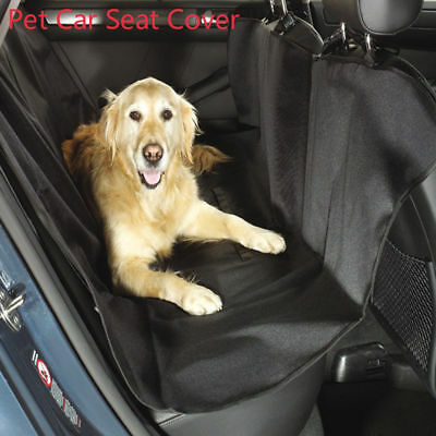 Car Seat Protector Pet Dog Cat Rear Cover Hammock Waterproof Travel Backing Mat