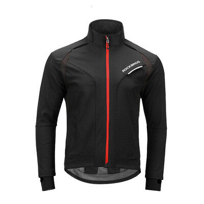 ROCKBROS Fahrradsport Winter Jacke Anzügen Thermal Fleece Jacke Winddicht