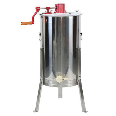 Estrattore Di Miele Telai Acciaio Manualmente Honey Extractor Beekeeping