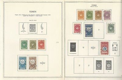 Yemen Collection 1926 to 1970 on 130 One-Sided Minkus Specialty Pages
