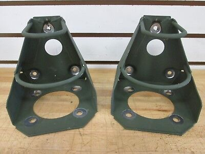 (2)  Radio Antenna Mounting Brackets Nsn: 5340-01-391-2742 ~New~ A3014546-1