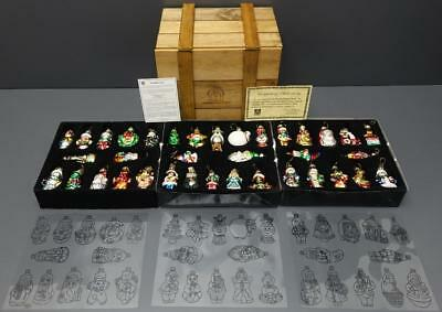2002 Thomas Pacconi Classics 36 Glass Christmas Ornaments Collection In Crate