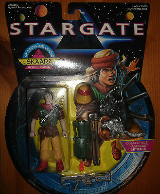 "Stargate The Movie SKAARA Rebel Leader 4.5"" Action Figure (1994 Hasbro)"