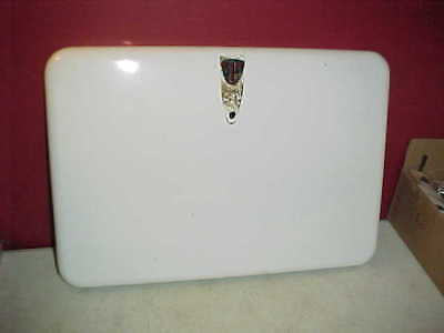 Vtg Chambers Stove White Enamel Oven Door Skin Very good pre-owned condition