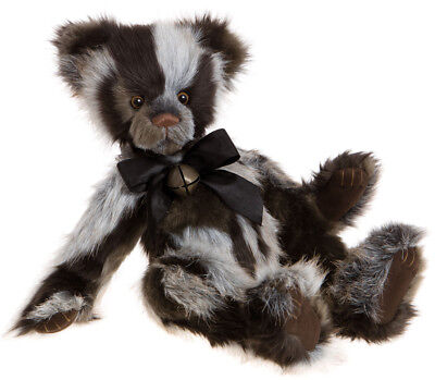 Emil by Charlie Bears collectable plush jointed teddy bear - CB161629
