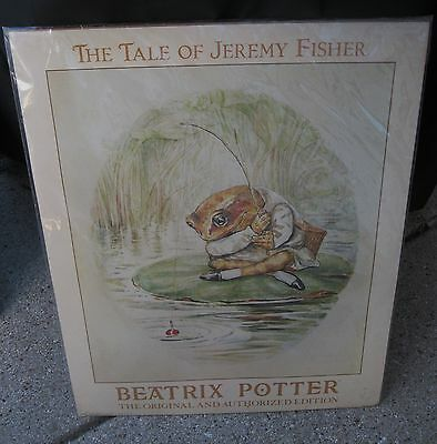 The Tale of Jeremy Beatrix Potter  Picture Art Print