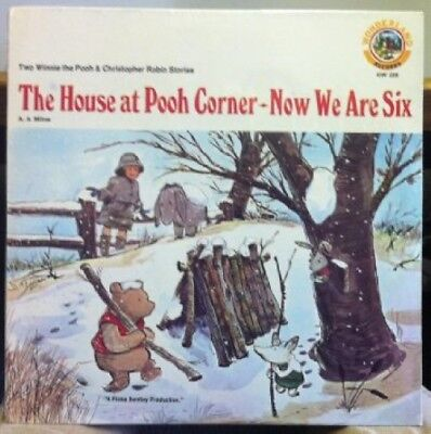 WINNIE THE POOH A.A. MILNE The House At Pooh Corner & Now We Are Six vinyl recor