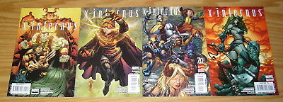 X-Infernus #1-4 VF/NM complete series - x-men spin-off with magik 2 3 set lot