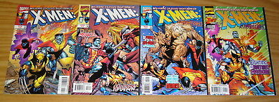 X-Men: Liberators #1-4 VF/NM complete series WOLVERINE colossus NIGHTCRAWLER