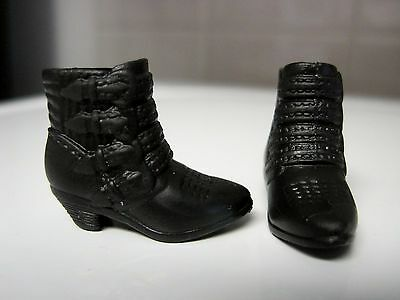 Barbie Doll Clothes/shoes *mattel High Short Boots   *new*  #1245