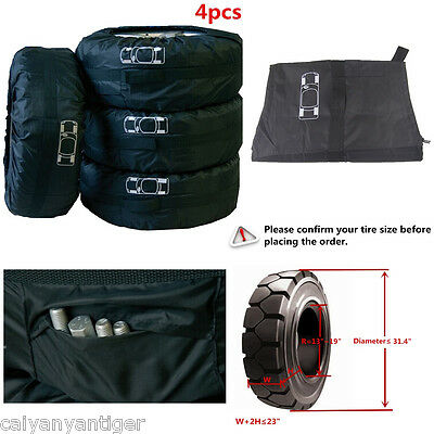 Tire Accessory Car Spare Wheel Storage Carry Tyre Bag Seasonal Protection Cover