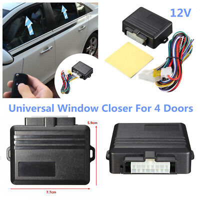 DC 12V 4 Door Car Automatic Window Closer Tool For Alarm Module System Universal