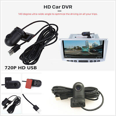 140° 720P HD USB Car Camera Video Recorder DVR For Android 4.2 /4.4 /5.1 Radio