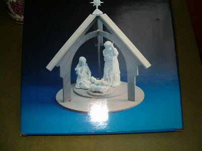 AVON Nativity Collectibles Display Stand