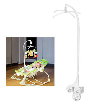 Baby Crib Cart Bed Bell Music Toy Holder Arm Bracket Early Learning Stent TH772