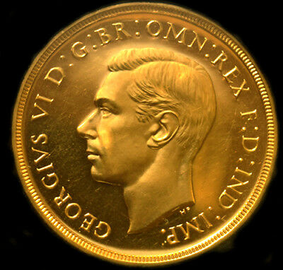 King George The Vi 1937 Gold £2 Proof Sovereign....