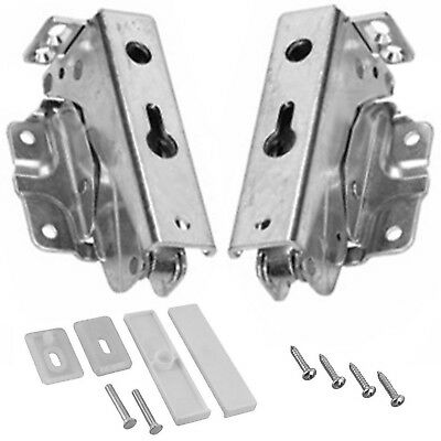 BAUKNECHT Integrated Hinge Pair Built Hinges Left Right Top Lower 3362 3363 5.0