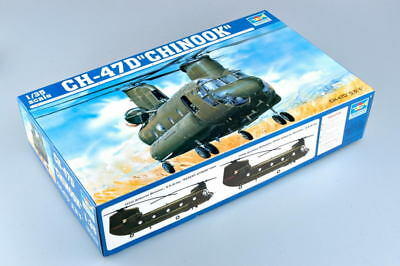 TRUMPETER® 05105 CH-47D Chinook Helicopter in 1:35