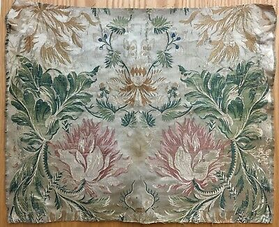 Rare Wonderful Late18th / Early 19th C.  French Silk Woven Brocade (2118)