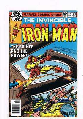 Iron Man # 121  The Prince and the Power !  grade 9.4 scarce book !