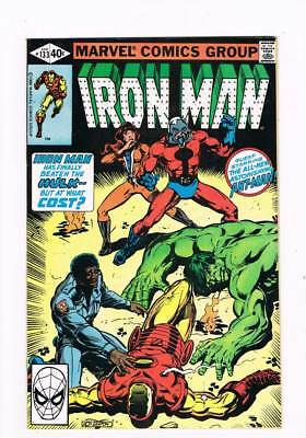 Iron Man # 133 Incredible Hulk / Ant-Man Battle Issue !  grade 9.4 scarce book !