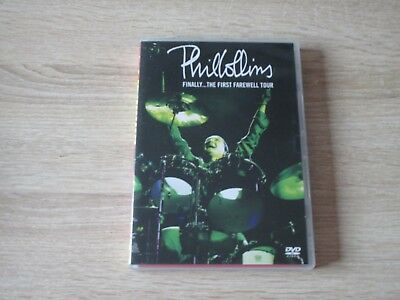 Phil Collins - Finally - The First Farewell Tour Musik 2 DVD Box
