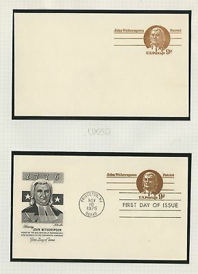 United States Collection of Postal Cards, Lot of 12, UX69-UX75