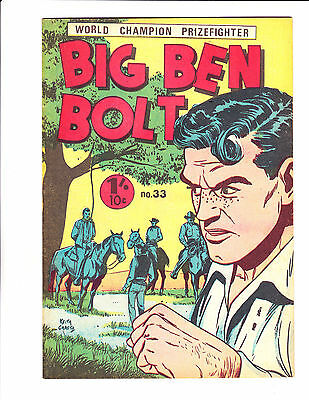 "Big Ben Bolt  No 33 1960's Austrailian -""Hanging Cover! """