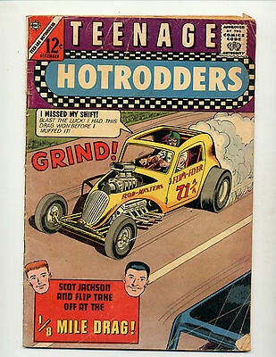 "Teenage Hotrodders #5  [1963 Gd]  ""1/8 Mile Drag!"""