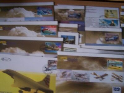 20 Different Flight/aircraft/aviatiion Covers,excellent Lot.