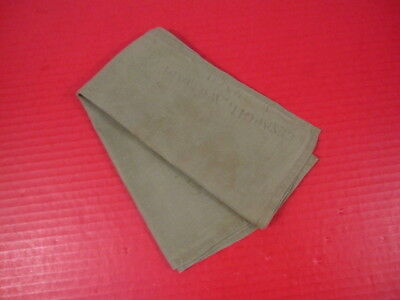 WWII Era US Army Enlistedman's OD Green Hankerchief - Original #1