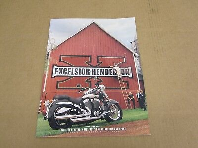 1999 Excelsior Henderson Motorcycle Super X sales brochure literature catalog