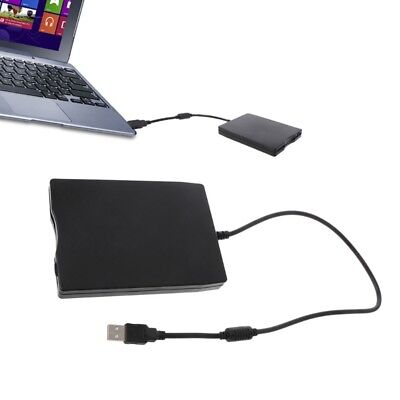 "Floppy Disk Drive FDD Disc Portable External USB 1.44MB 3.5"" PC Converter Reader"