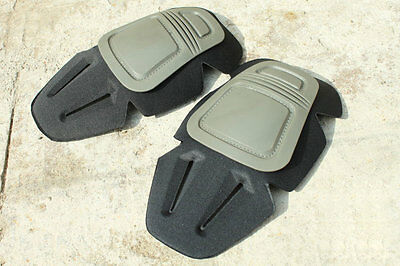 New Gray DP Style Tactical Knee Protective Pads Airsoft HT1335 HOT