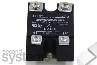 Electronic Load Relays Serie 1 Crydom D2410 last-strom 10 A Switching Voltage 24