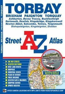 Torbay Street Atlas by Geographers' A-Z Map Company 9781843488330