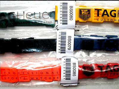 TAG Heuer Formula 1 straps Midsize/Men's, Women's & Chronograph NEW & SEALED F1