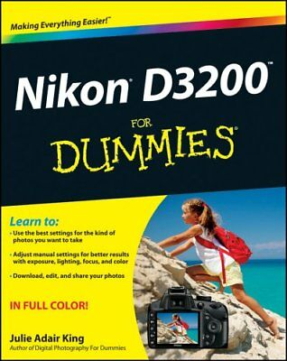Nikon D3200 for Dummies by Julie Adair King 9781118446836 (Paperback, 2012)